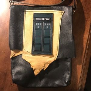 Handbags - Dr Who leather satchel